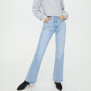 Levi's RIBCAGE Flare Tango Jeans